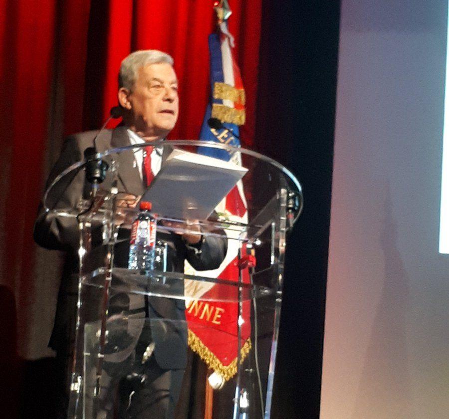 Emmanuel Macron köztársasági elnök levele az SMLH leköszönt elnökének, Hervé Gobilliard tábornoknak